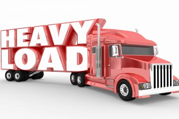 heavy load truck